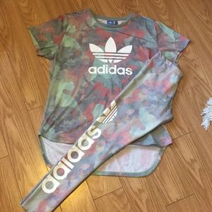 🌟Pastel Camo Adidas Set🎉